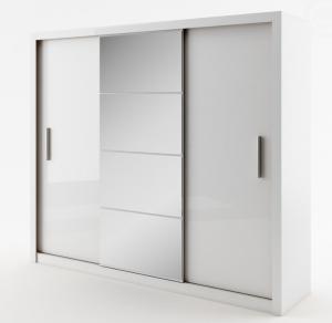 Dig-net nábytok Šatníková skriňa Idea ID-01 Farba: Biela