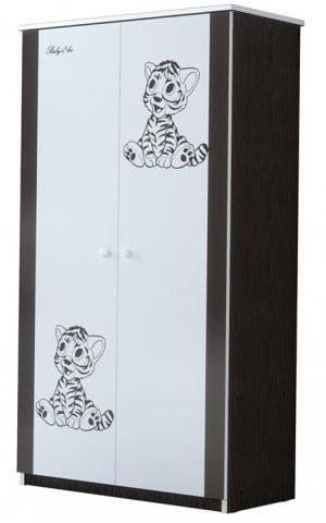 ArtBoo Detská skriňa BABY BOO Hnedá: Tigrík