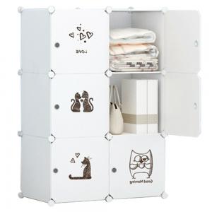 Detská modulárna skriňa DINOS Tempo Kondela